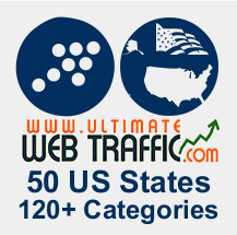 US States Targeted Traffic - Visitors from 50 US states and different cities